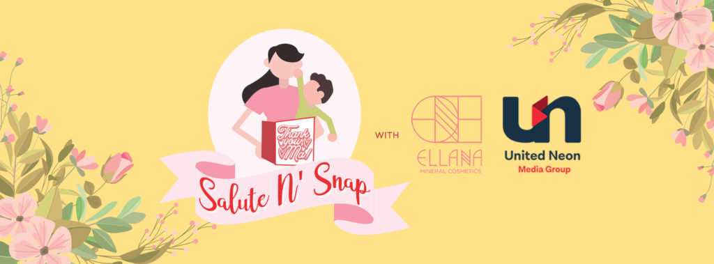 Salute N' Snap with Ellana Mineral Cosmetics and United Neon Media Group | www.familywiseasia.com