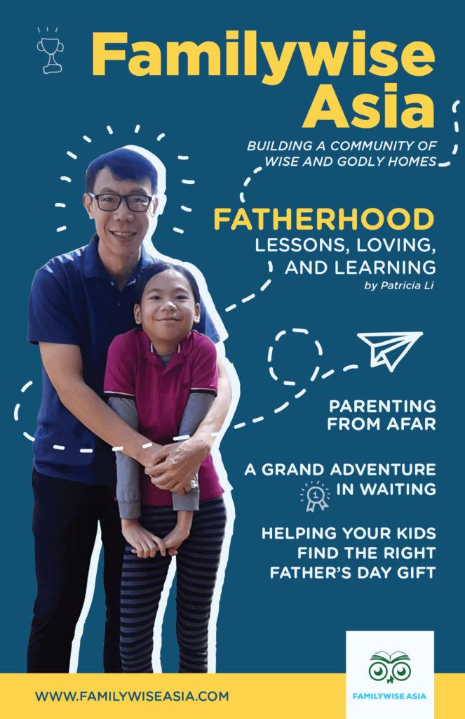 Father's Day Special Minizine Issue | www.familywiseasia.com